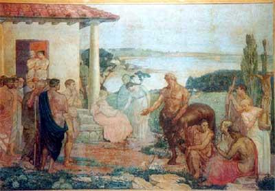 Quirón el Centauro dicta el primer Tratado de Terapéutica. 87d0cf0b74050