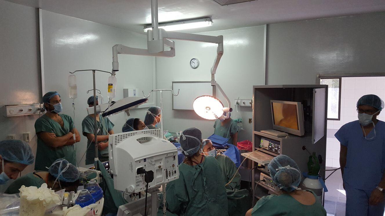Torre de laparoscopía