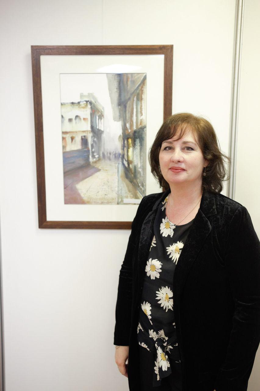 ELENA ZINNO - PRIMER PREMIO EN ACUARELA