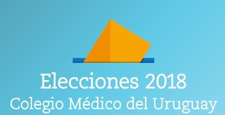 Elecciones en el Colegio Médico del Uruguay el próximo