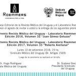 premios revista médica del uruguay