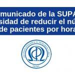 comunicado SUPAC