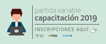 Capacitación 2019 partida variable
