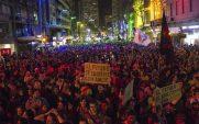 .Marcha por la Diversidad 2018.Foto de Nairí Aharonián Paraskevaídis