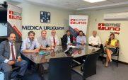 Imagen de la nota Se firma un nuevo convenio bipartito por emergencias médicas con Emergencia Uno