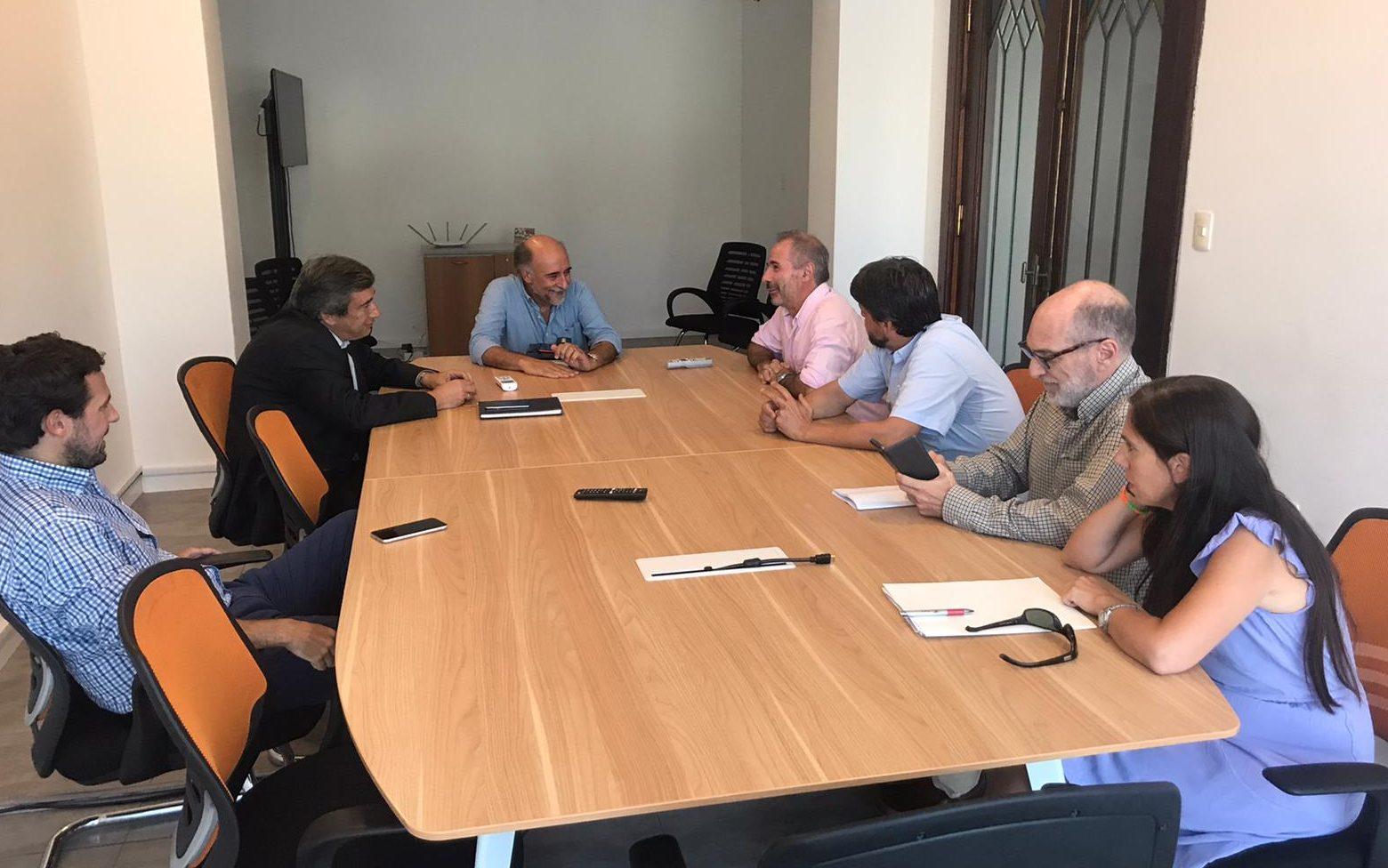 Autoridades del SMU se reunieron con futuros jerarcas del MTSS.