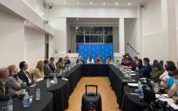 SMU recibió a las autoridades del Colegio de Abogados y miembros del Colegio de Contadores y Economistas para intercambiar sobre la preocupante situación de la Caja