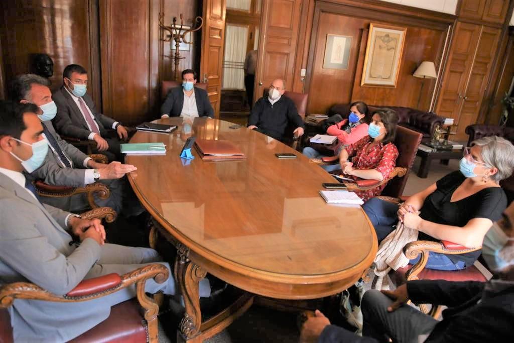 Se realizó reunión entre MSP, SMU y Gremio Médico y de Practicantes de Casa de Galicia